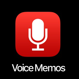 Voice Memos app.