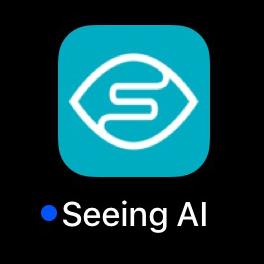 Seeing AI app.