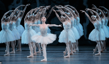 Image of NYC Ballet performance.