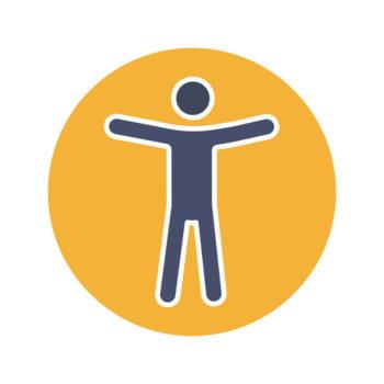 Universal Access symbol image.