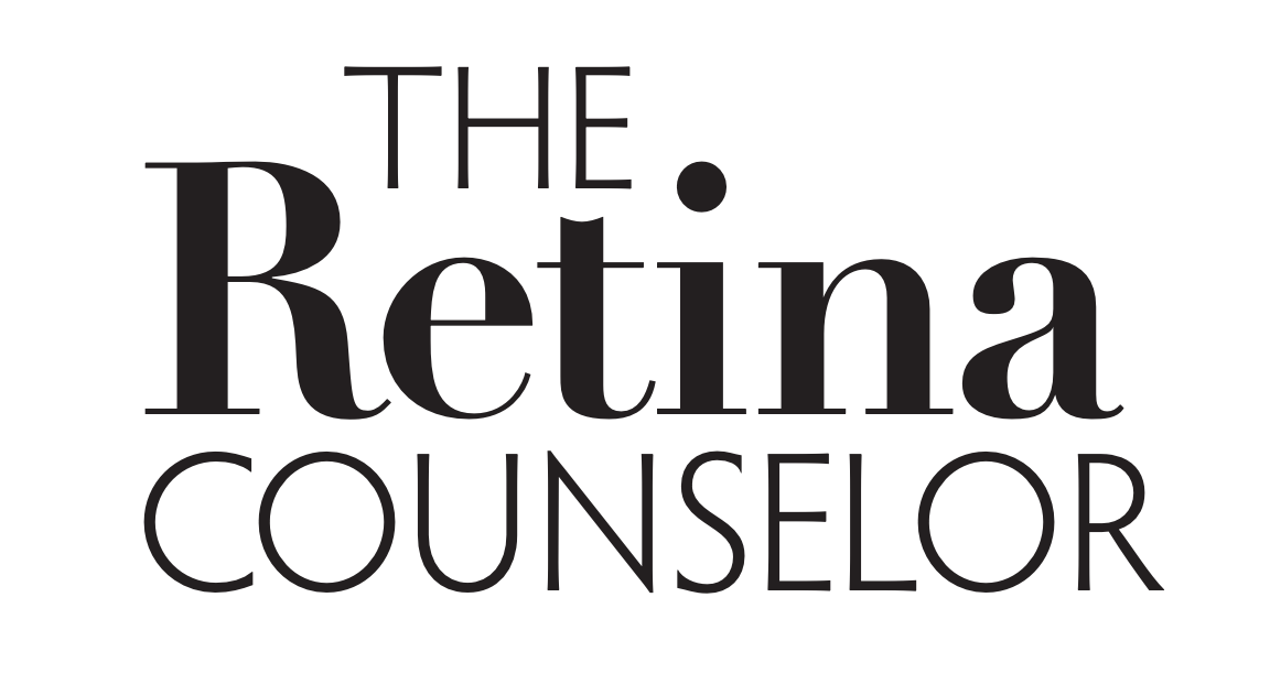 Image of the logo for The Retina Counselor.